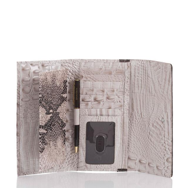 Soft Checkbook Wallet Pumice Loukkos, Pumice, hi-res