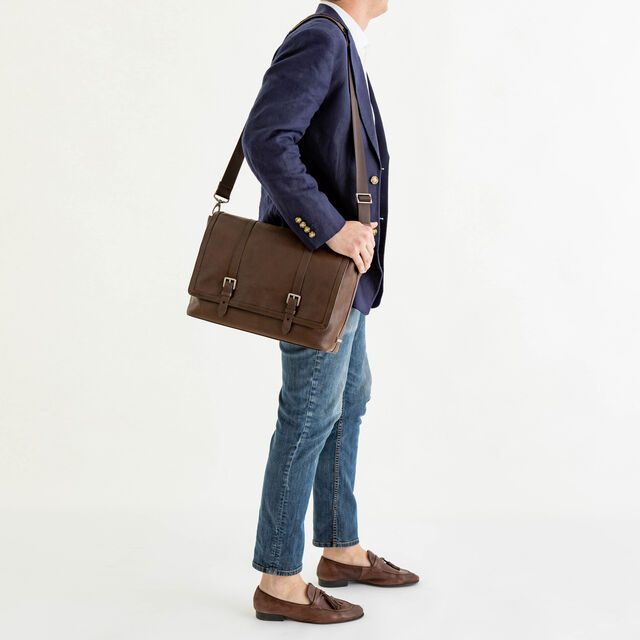 Mason Messenger Cocoa Brown Manchester, Cocoa Brown, hi-res