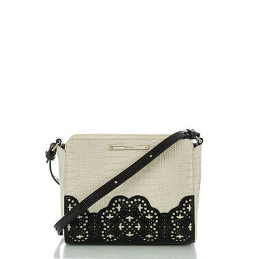 Carrie Crossbody Black Magnolia Front