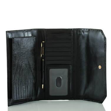Soft Checkbook Wallet Beige Estero Interior