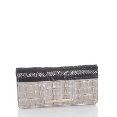 Ady Wallet Warm Gray Holzer Side