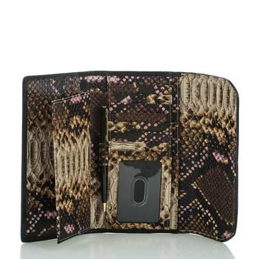Soft Checkbook Wallet Creme Botan Interior