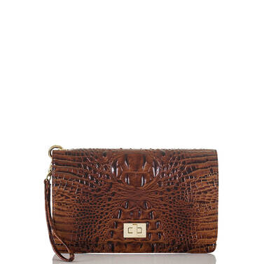 Lily Pouch Pecan Melbourne Front