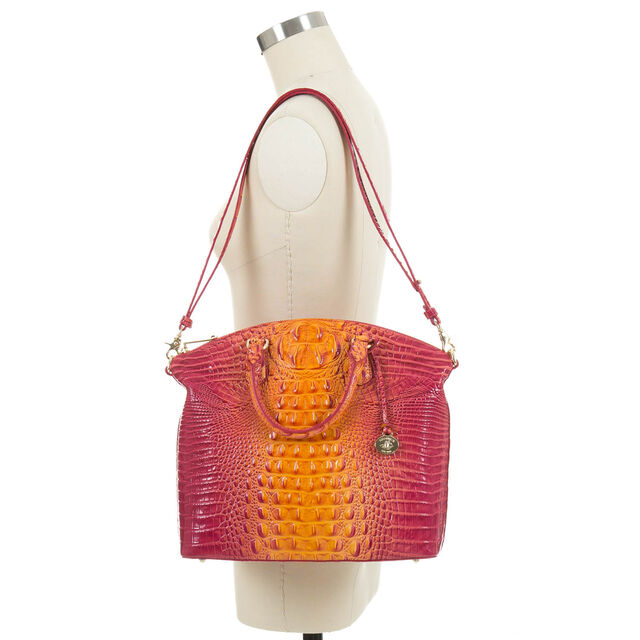 Large Duxbury Satchel Passion Fruit Melbourne, Passion Fruit, hi-res