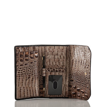 Soft Checkbook Wallet Bark Mitford Front