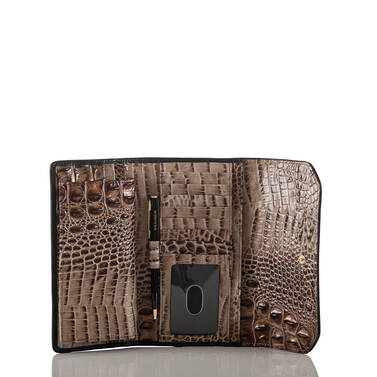 Soft Checkbook Wallet Bark Mitford Interior