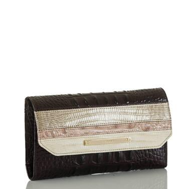 Soft Checkbook Wallet Sterling Kapoor Side