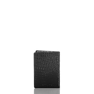 Passport Wallet Black Melbourne Back