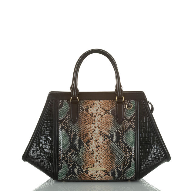 Arden Satchel Serpentine Patchouli, Serpentine, hi-res