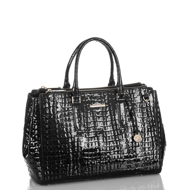Blake Satchel Black La Scala, Black, hi-res