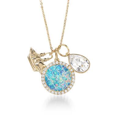 Crystal Charm Necklace Wonderland Fairhaven Front