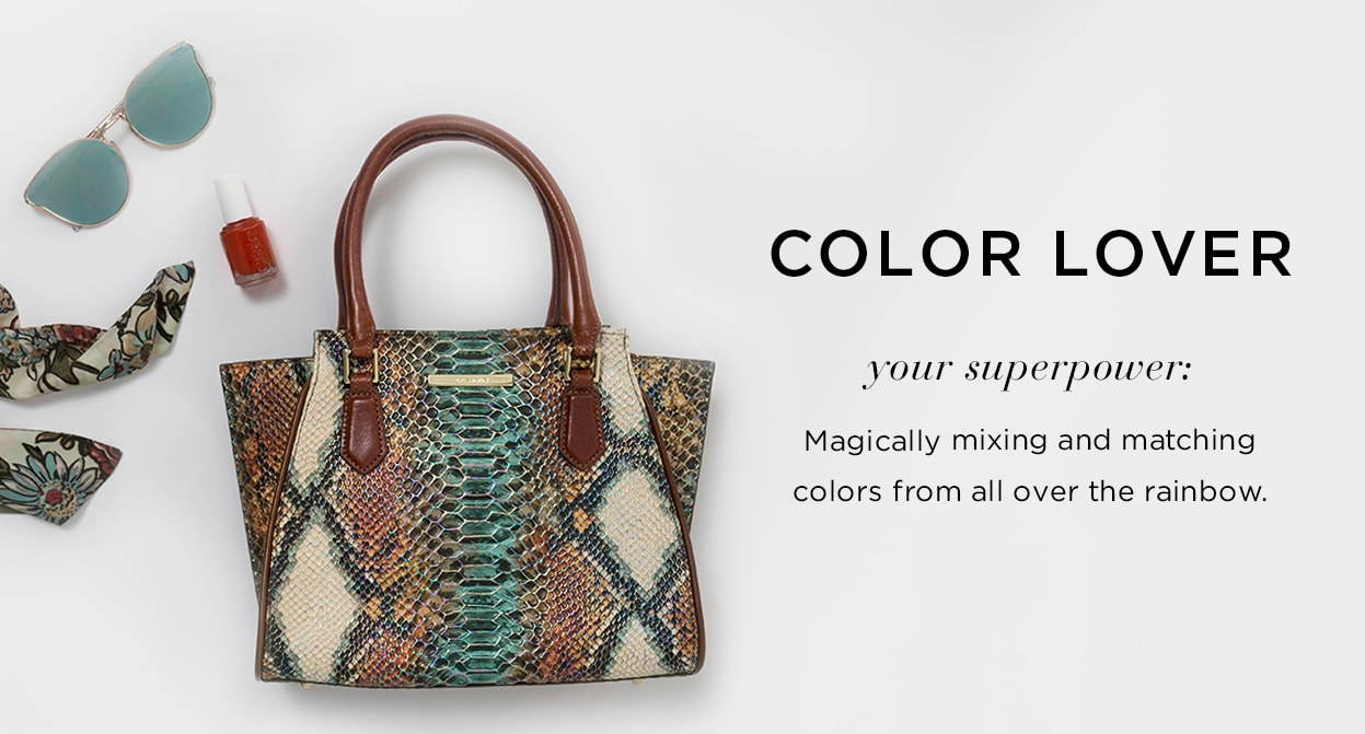 Color Lover: Your Superpower: Magically mixing an matching colors from all over the rainbow.
