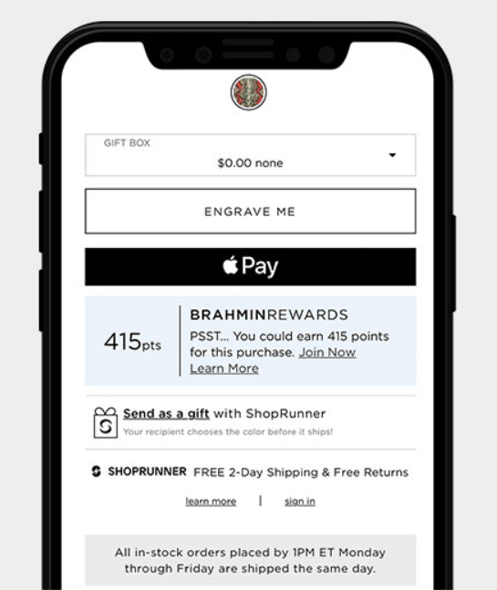 Send a gift with Shoprunner