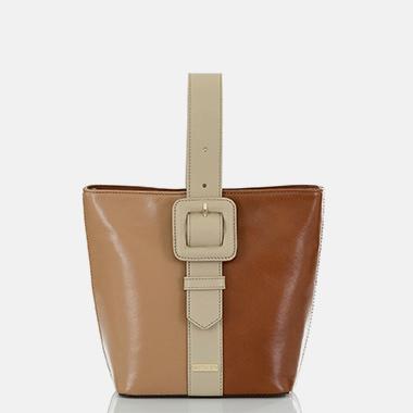 Faith Bucket Bag Whiskey Arisel