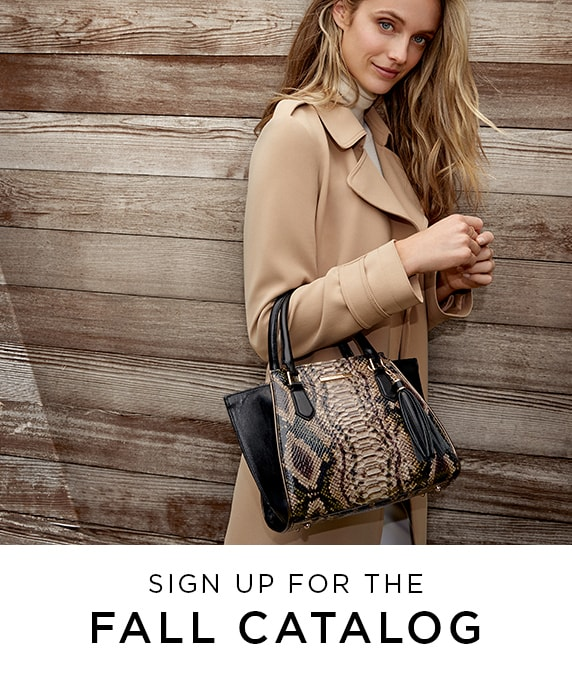 Sign up for the Fall catalog.