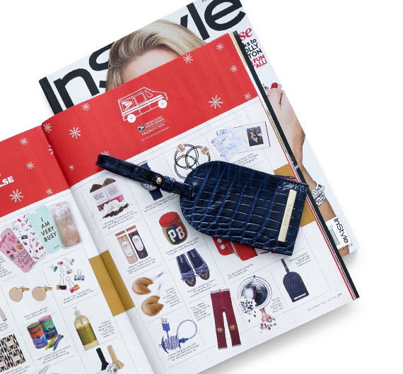 InStyle Magazine December 2016 Issue