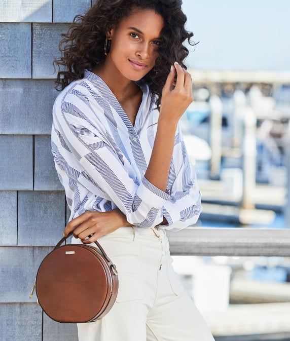 Lane Crossbody Whiskey Topsail