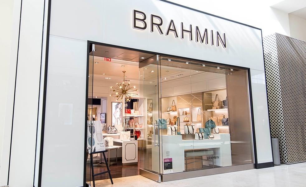 Brahmin Retail Storefront