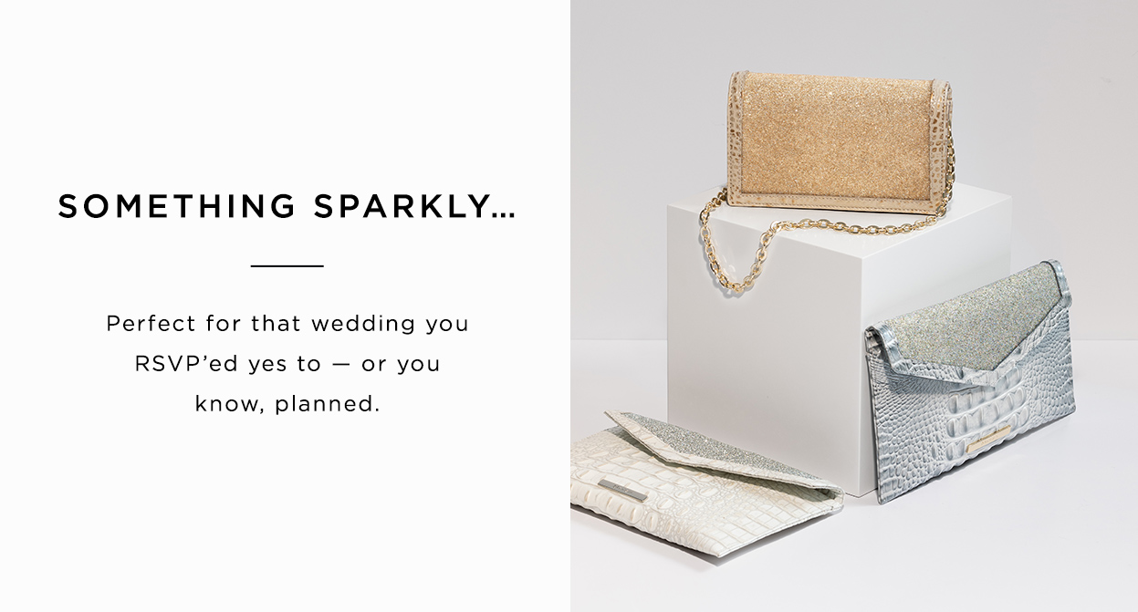 Something sparkly... Perfect for that wedding you RSVP'ed yes to - or you know, planned.