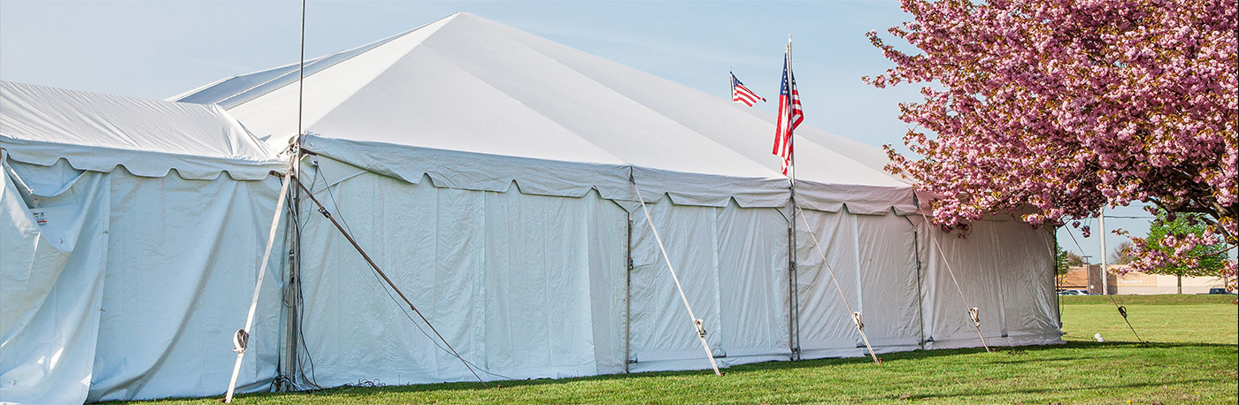 Image of tent sale event