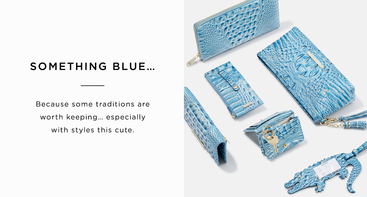 Something Blue... Because some traditions are worth keeping... especially with styles this cute.