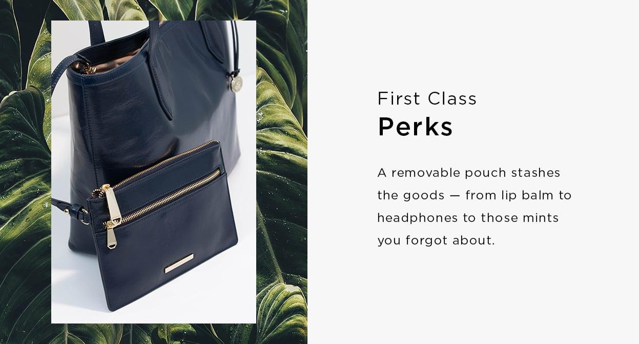 First class perks