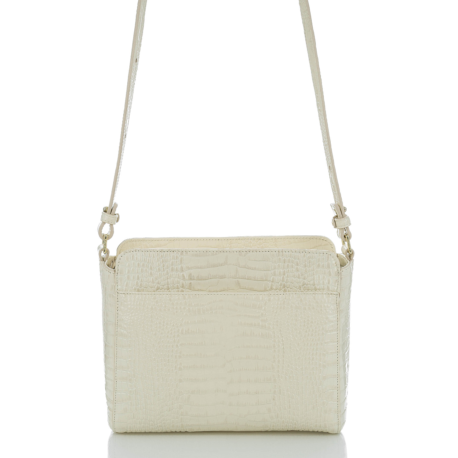 Carrie Crossbody Gold Sumatra Front