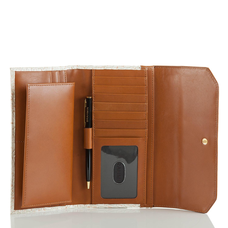 Soft Checkbook Wallet Lagoon Eckford