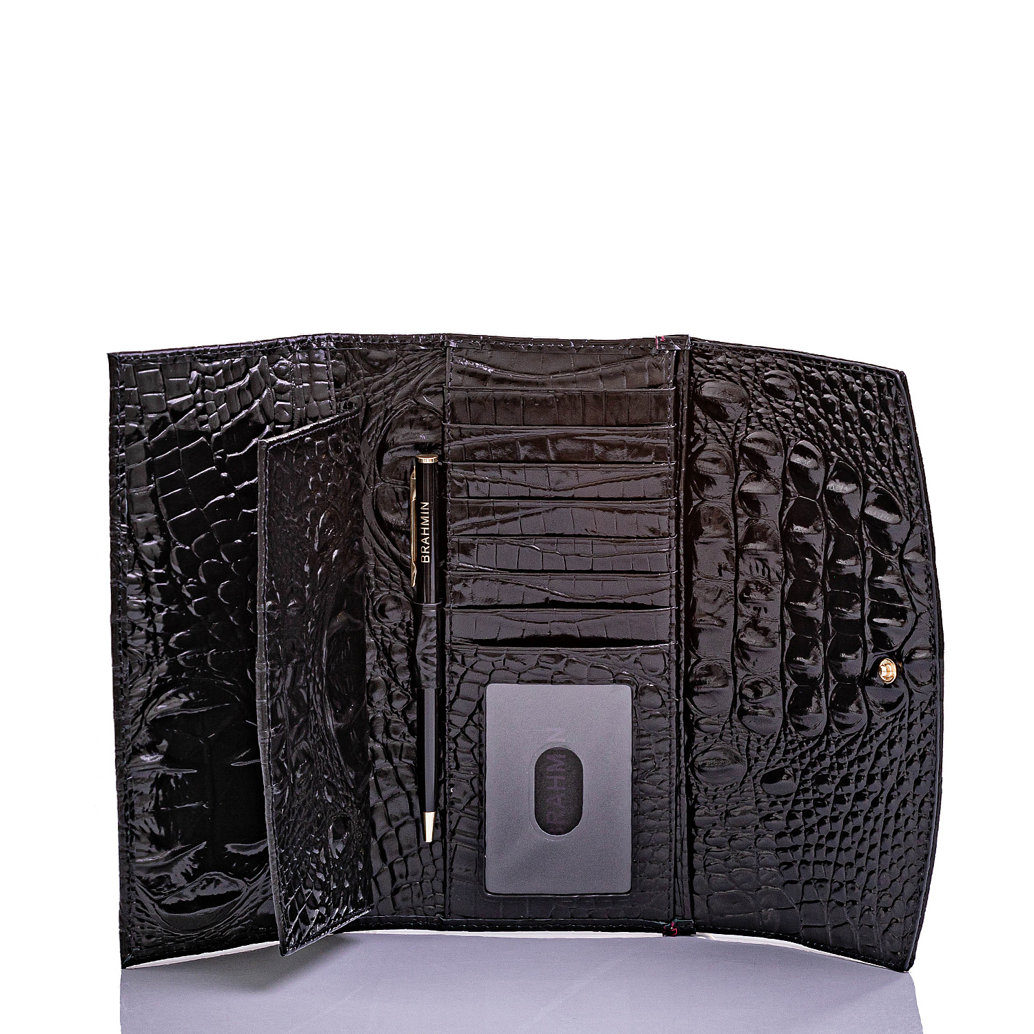 Modern Checkbook Wallet Infrared Stockholm Front