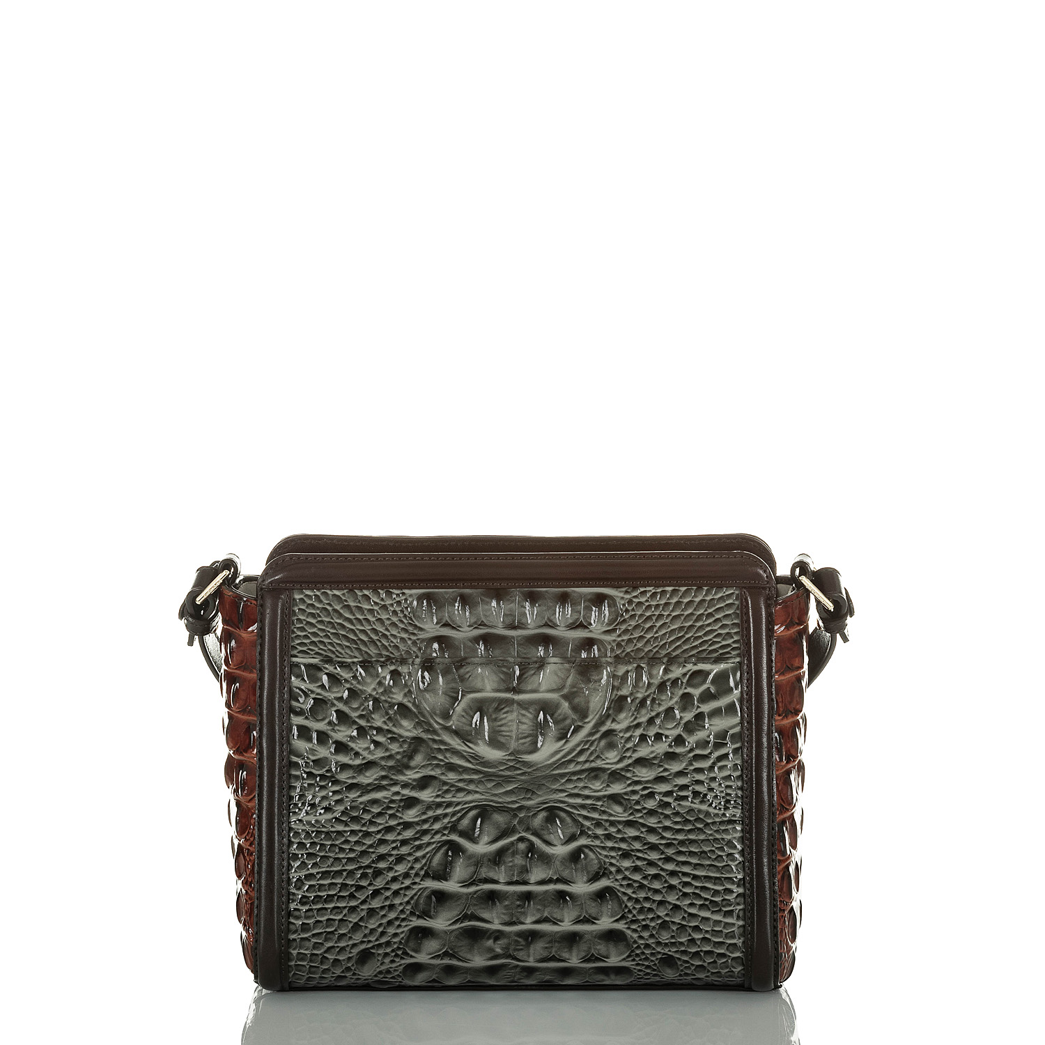 Carrie Crossbody Serpentine Heartwood