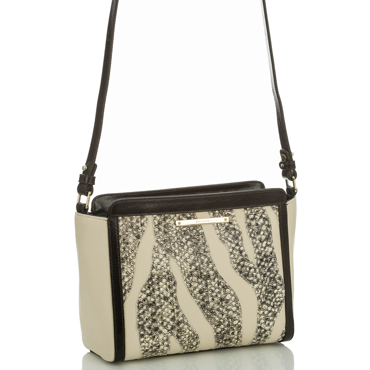 Carrie Crossbody Creme Solymar Front