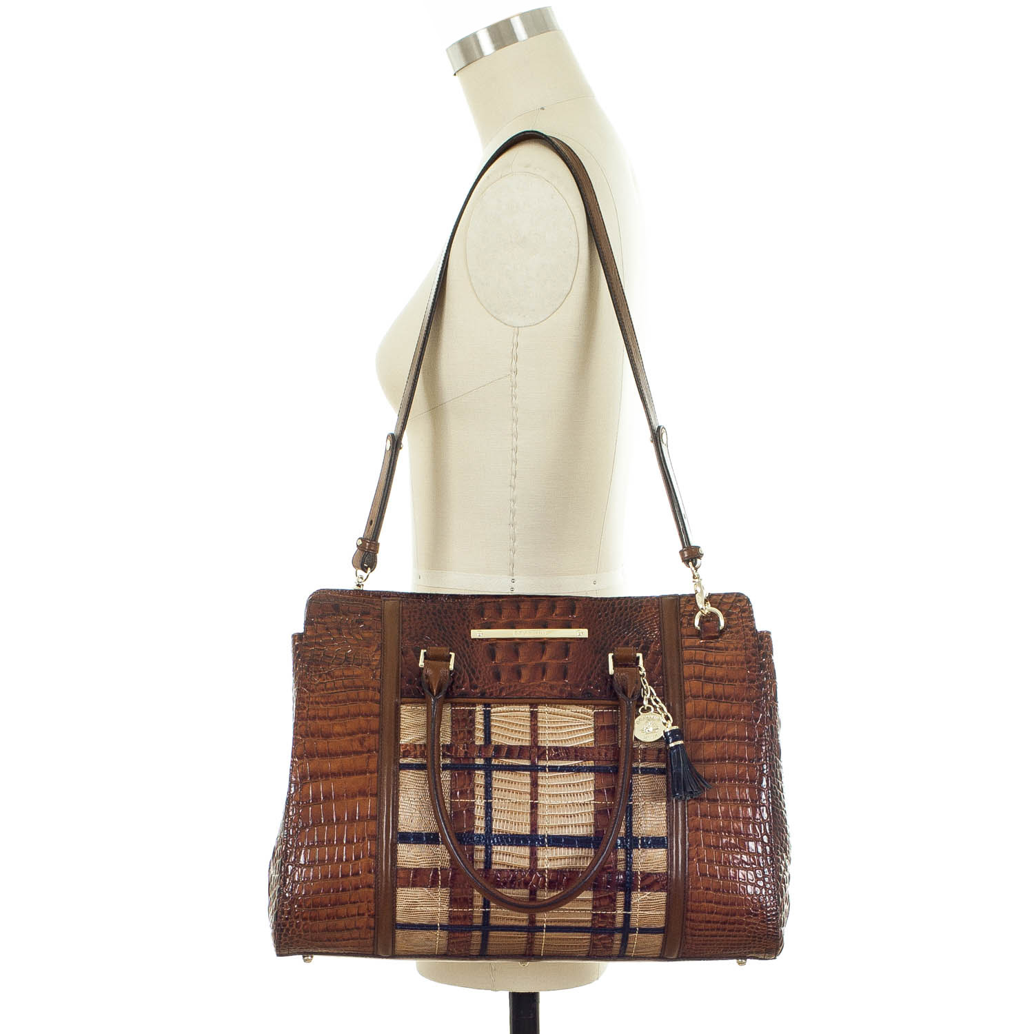 Finley Carryall Pecan Canterbury Front