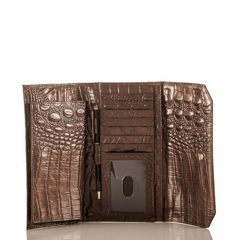 Soft Checkbook Wallet Honey Carlisle