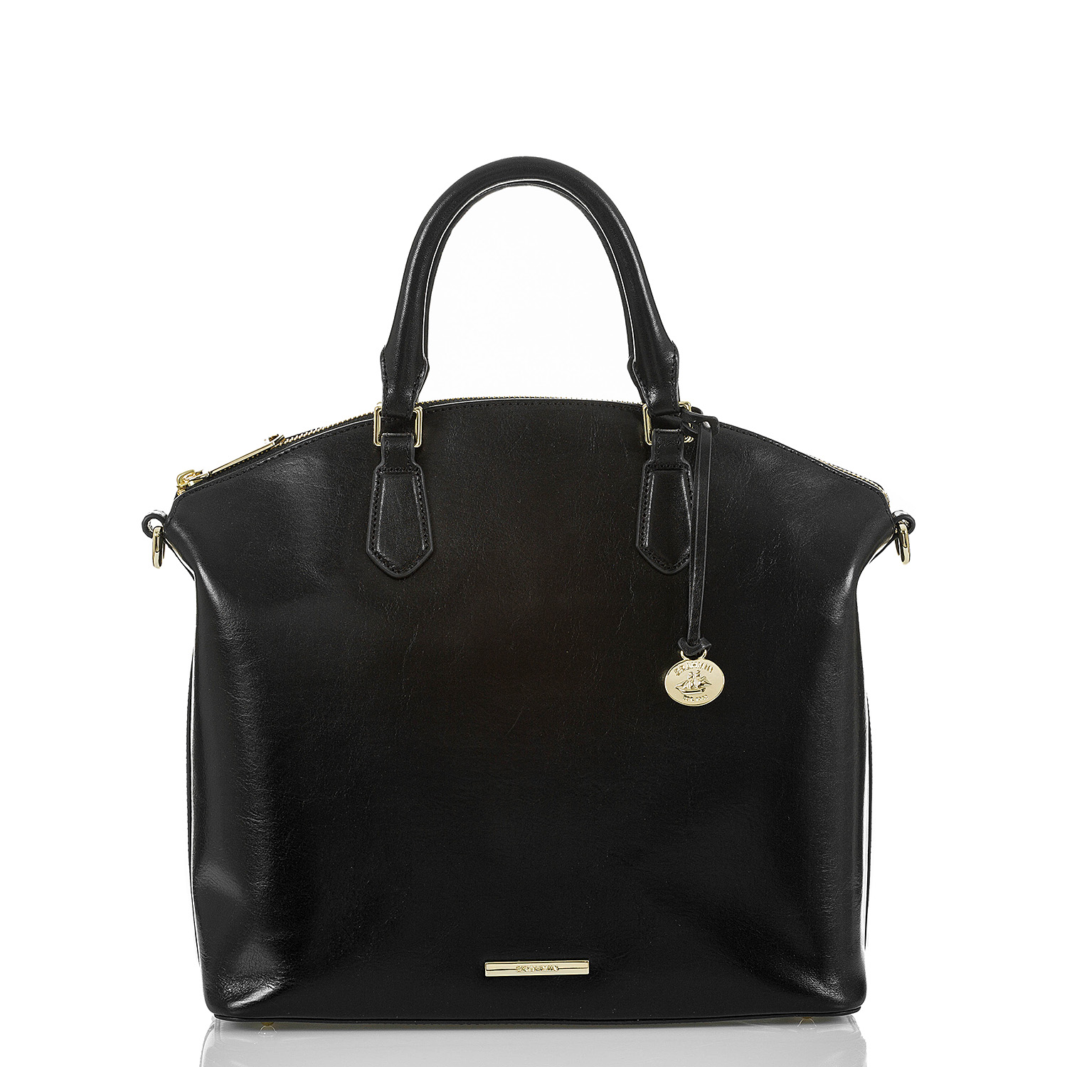 Large Duxbury Satchel Black Topsail