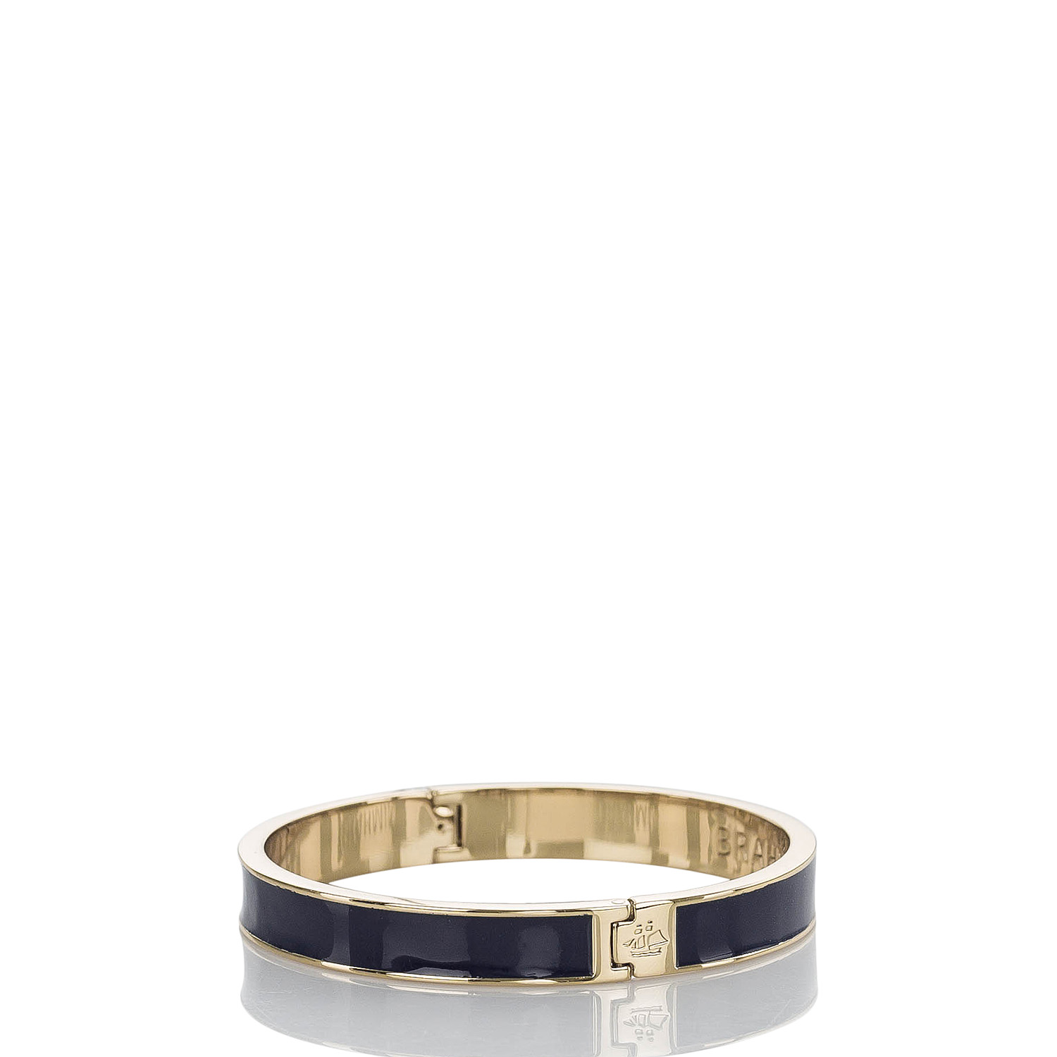 Fairhaven Thin Bangle Navy Jewelry