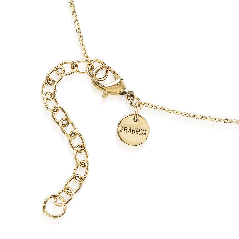 Crystal Charm Necklace Garnet Fairhaven