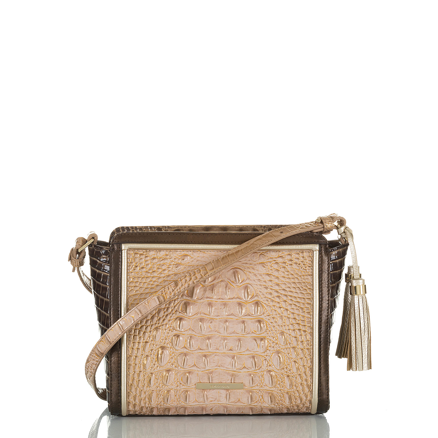 Carrie Crossbody Chiffon Roseleaf