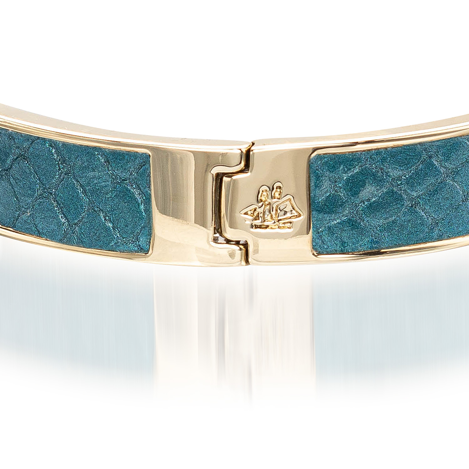 Heritage Leather Bangle Agate Fairhaven