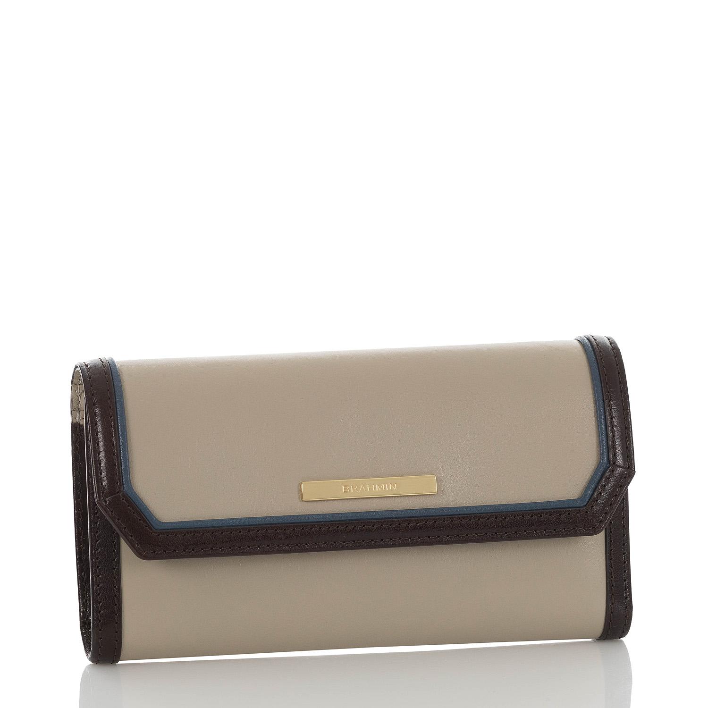 Soft Checkbook Wallet Sand Westport