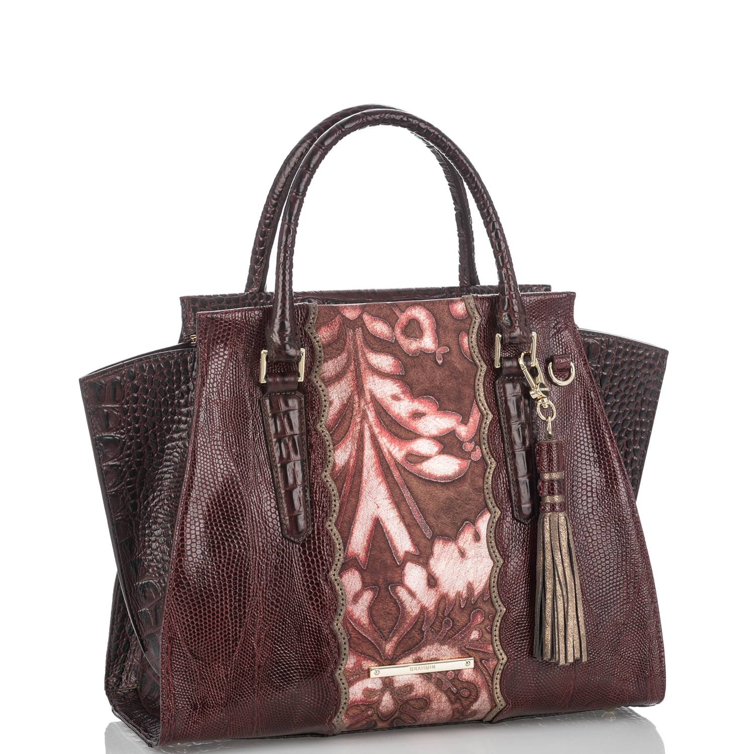 Priscilla Satchel Red Verona