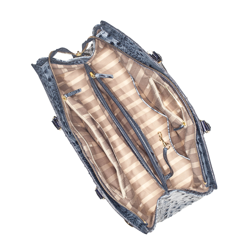 Finley Carryall Denim Tri-Texture