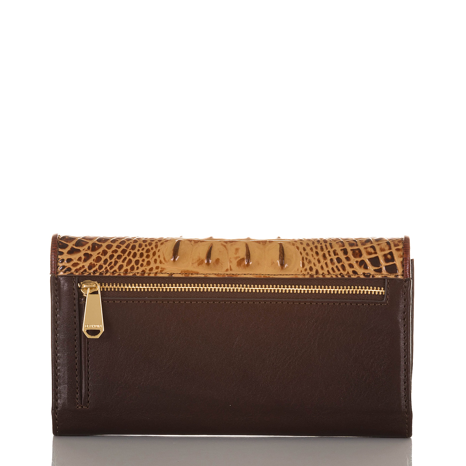 Modern Checkbook Wallet Toasted Viola