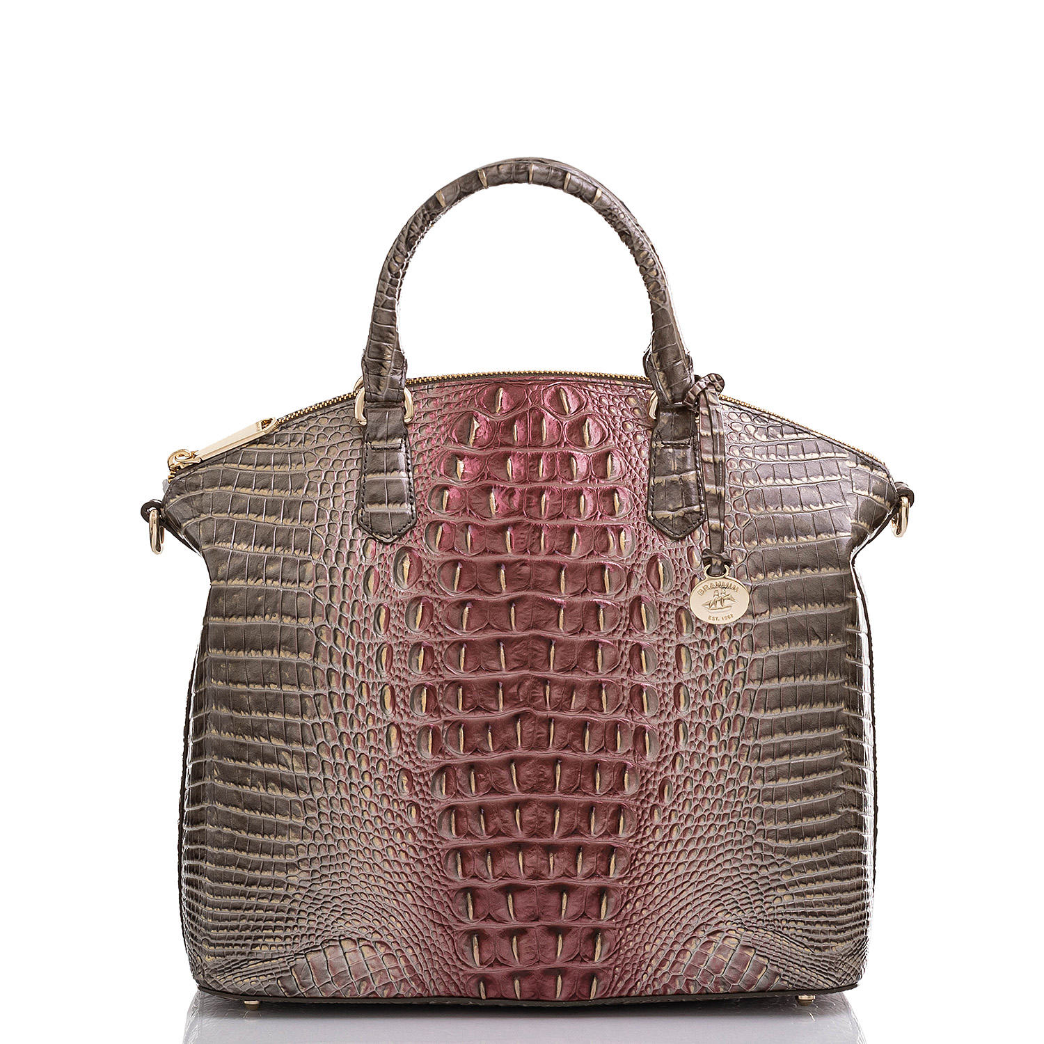 Large Duxbury Satchel Garnet Ombre Melbourne Video Thumbnail