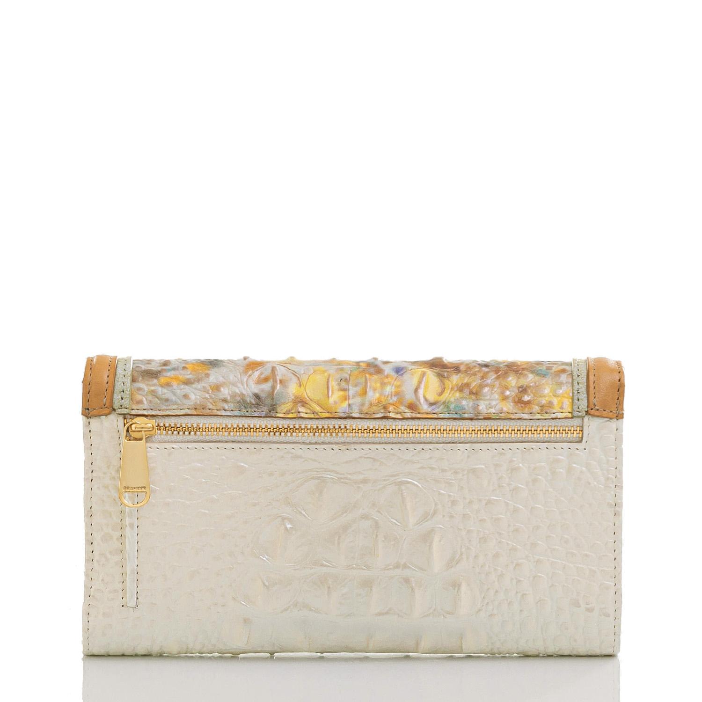 Modern Checkbook Wallet Poppy Seed Allendale