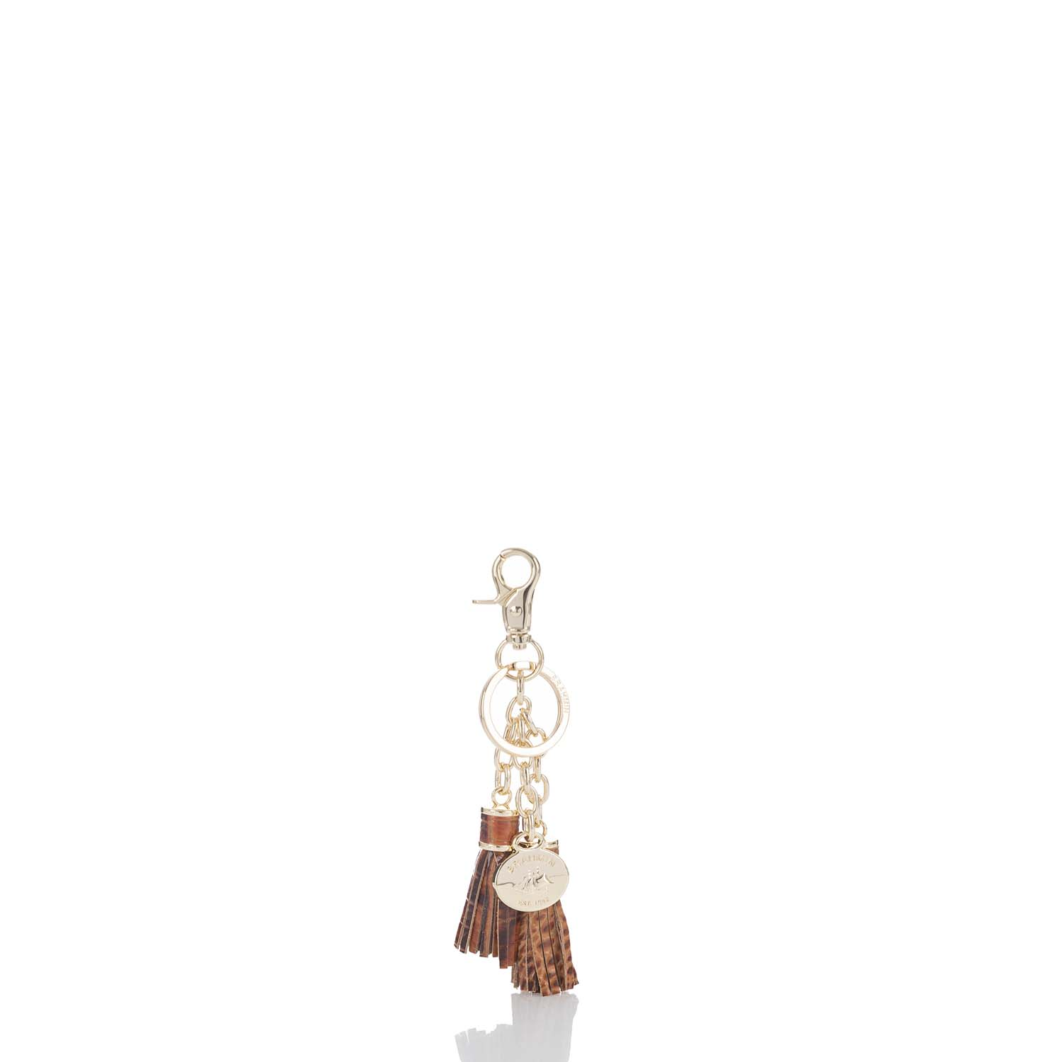 Tassel Key Ring Toasted Almond Melbourne Front