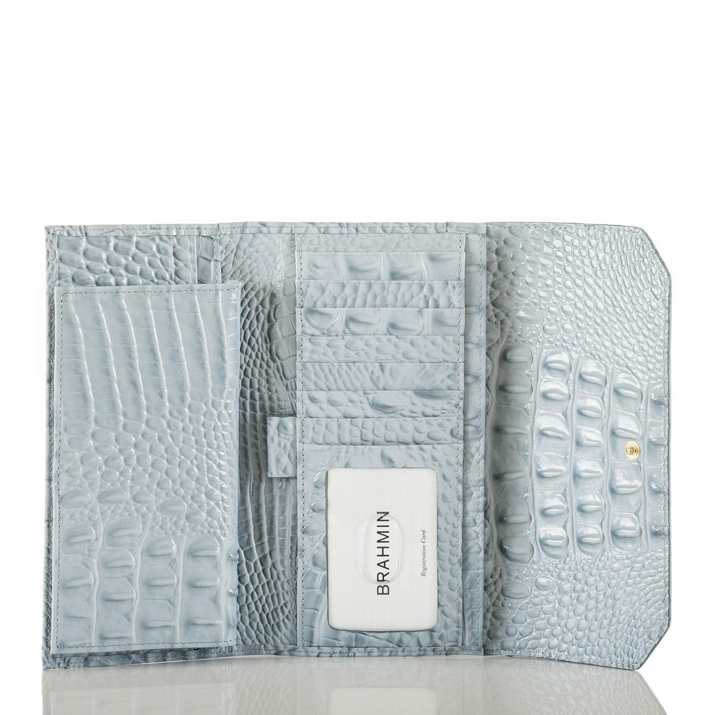Soft Checkbook Wallet Sky Melbourne