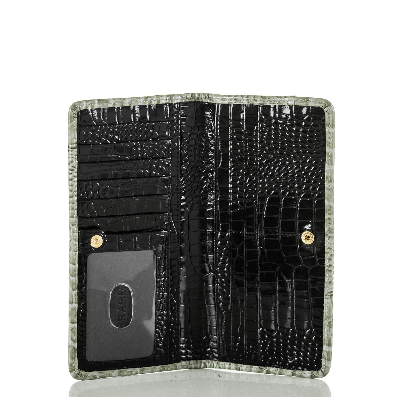 Ady Wallet Ivory Tri-Texture