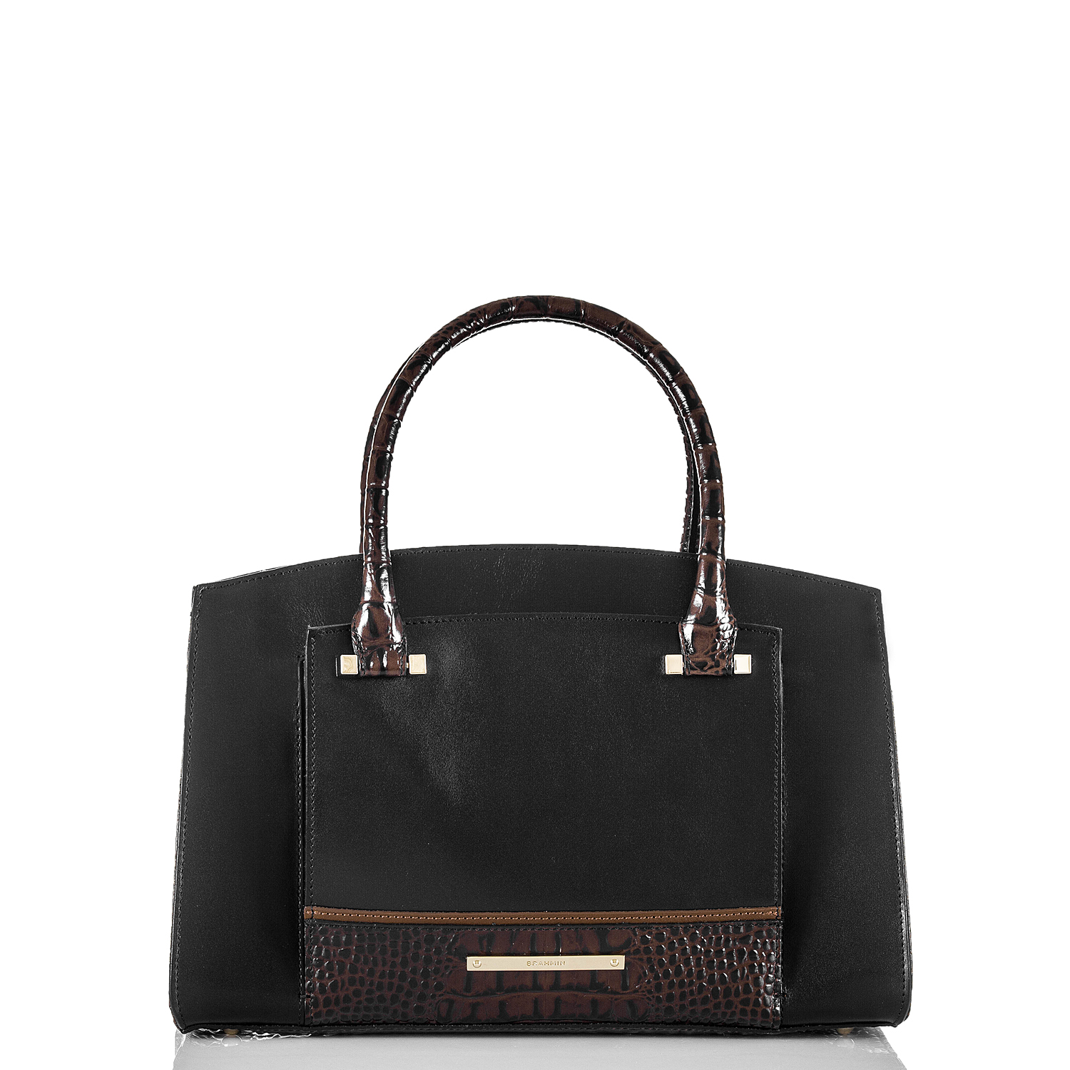 Greta Satchel Black Tuscan Tri-Texture Video Thumbnail