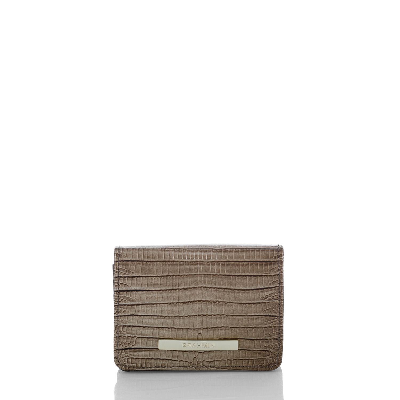 Mini Key Wallet Sable Fashion Lizard