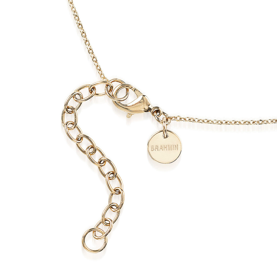 Crystal Charm Necklace Gold Fairhaven